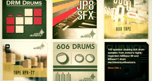 drum samples by wave alchemy